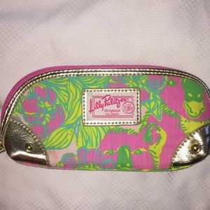 Lilly Pulitzer Vintage make up bag